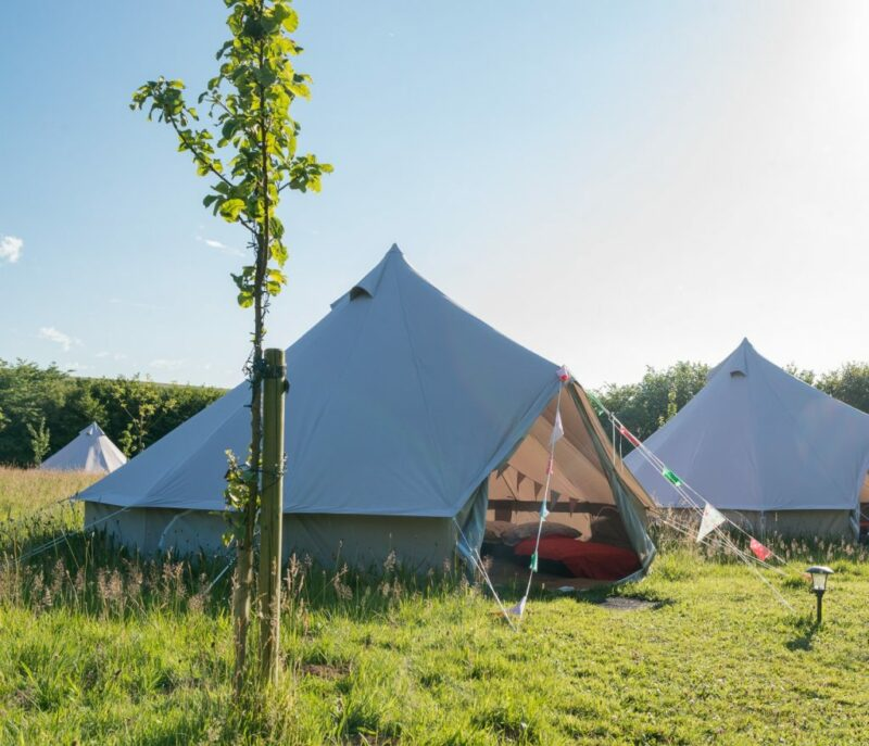Orchard Barn & Bell Tents